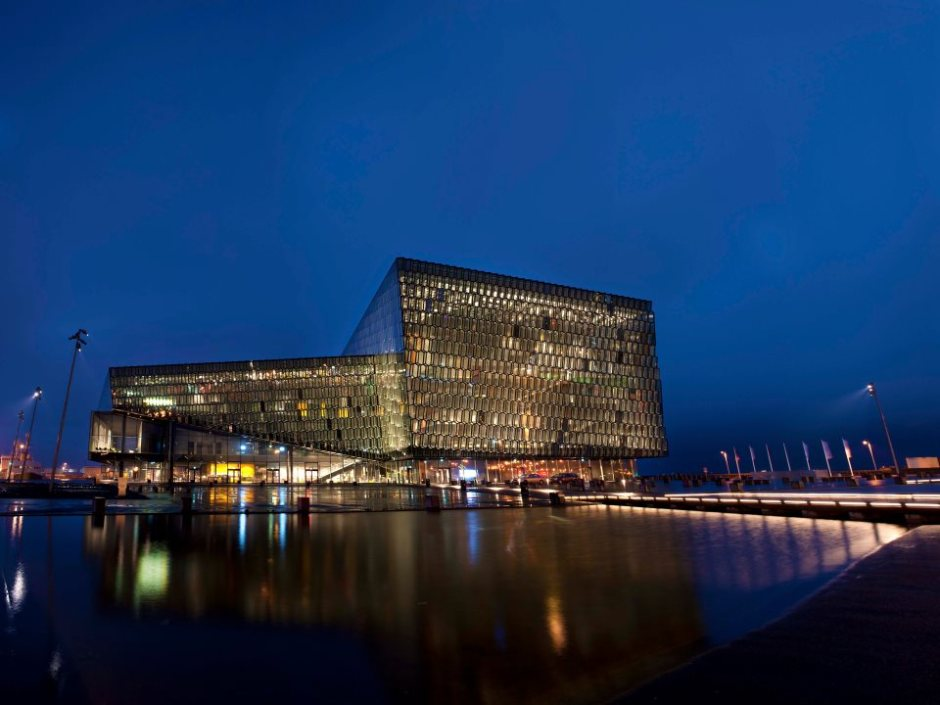 Iceland Harpa Centre