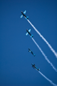 Aerobatic Team Display